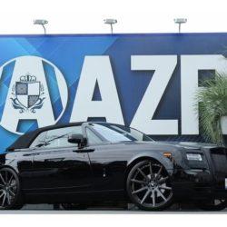 ロールスロイス ファントム・ドロップヘッドクーペ 正規ディーラー車 各種カスタムP SKYFORGED26AW
