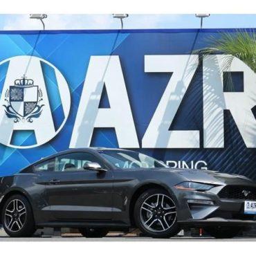 フォード マスタング エコブースト プレミアム 実走行証明付 2018yモデル