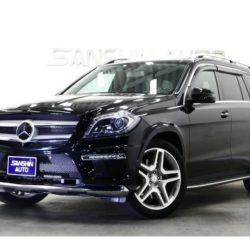 保護中: メルセデス・ベンツ GL550 4マチック AMGエクスクルーシブパッケージ 4WD パノラマR オンオフロードP レーダーSFP